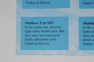 Baby Dedication Bible Verse